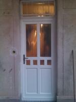 II. kerületi fa ajtó