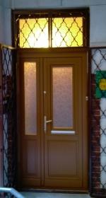 kétszárnyú ajtócsere műemlék házban