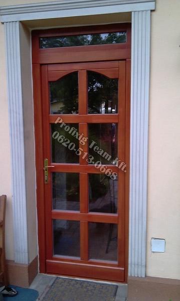 Kültéri ajtók gyártása