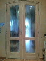 Íves fa beltéri ajtó