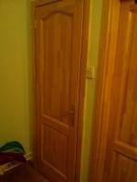 Teli fa beltéri ajtó
