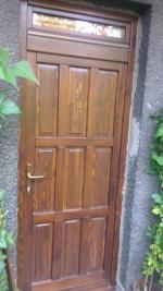 Felületkezelt kültéri bejárati ajtó