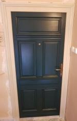 Fenyő bejárati ajtó