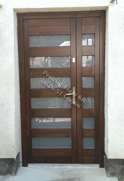 Hőszigetelt bejárati ajtó