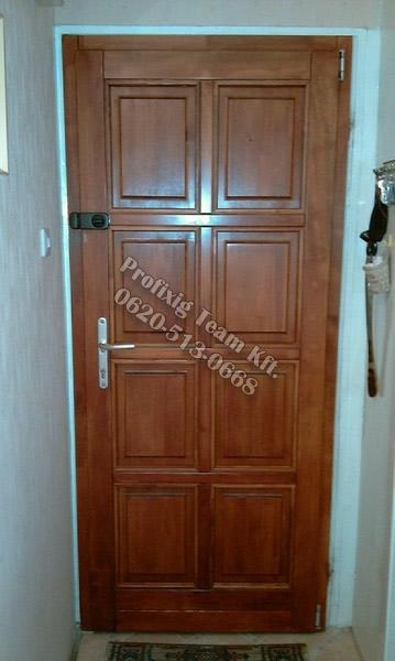 Panel lakás bejárati ajtó