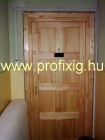 lakkozott ajtó