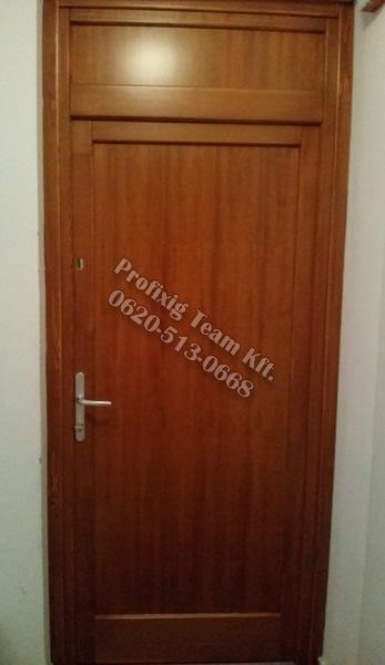 kétzáras fa bejárati ajtó