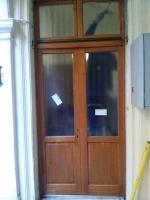 Hőszigetelt kétszárnyú ajtó