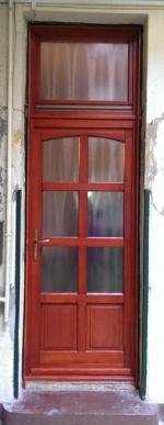 Bontás nélküli bejárati ajtó beépítés