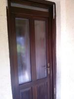 Csincsilla üveges ajtó