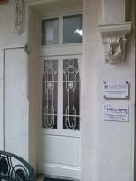 Fehér ajtó csere